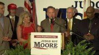 Primaire républicaine en Alabama: le juge Roy Moore, candidat au Sénat, inflige une cuisante défaite à l'Establishment