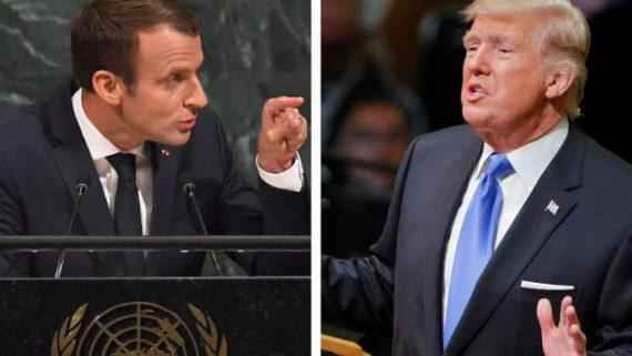 ONU Macron Anti Trump De Gaulle