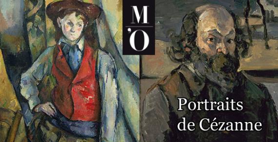 Portraits Cézanne Peinture Exposition