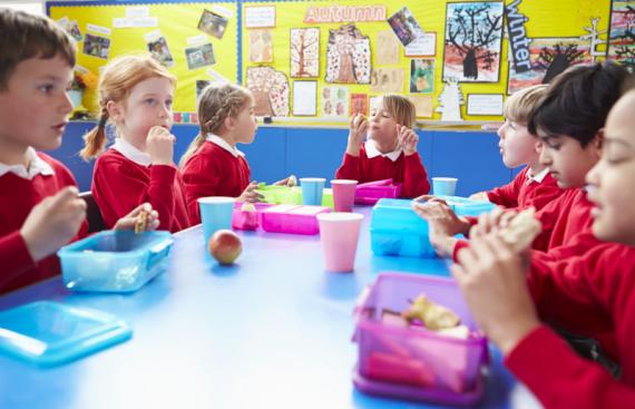 Royaume Uni Etat nounou pique niques scolaires
