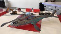 Modèle de l'hélicoptère lourd à développer conjointement par la Chine et la Russie, présenté à la Third China Helicopter Expo