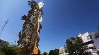 Syncrétisme: une statue mélange les images de la Vierge de Guadalupe et de la déesse Coatlicue-Tonantzin au Mexique – les «simples catholiques» protestent