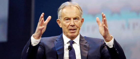 Tony Blair fermer frontières immigration massive Brexit Royaume Uni