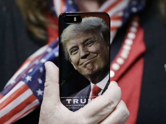 Washington Post Siri meilleur président Trump
