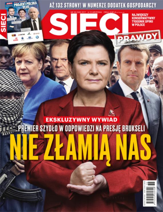 chantage UE immigrants Macron Beata Szydło premier ministre polonais