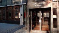 La chapelle Saint-Joseph, symbole de Ground Zero,est  située au pied du World Trade Center