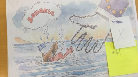 dessins presse anti UE censurés Parlement européen photo