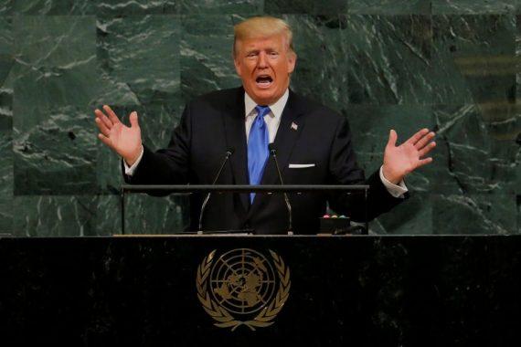 discours Donald Trump ONU globalisme