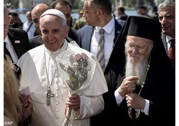 pape François patriarche Bartholomée message lutte changement climatique