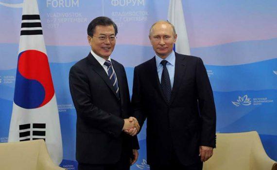 projets tripartites Russie Corée Sud Corée Nord