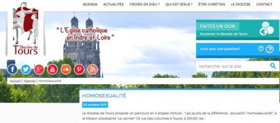 Accueillir homosexualité diocèse Tours engage