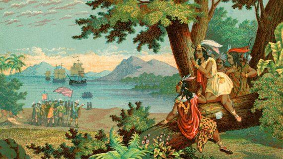 Christophe Colomb pas découvert Amérique RT