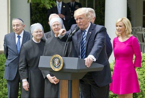 Conférence évêques Etats Unis hommage administration Trump objection conscience contraception
