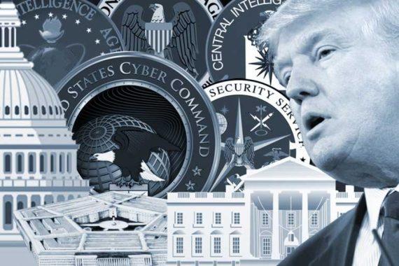Deep State fonctionnaires Etat profond insurrection Trump