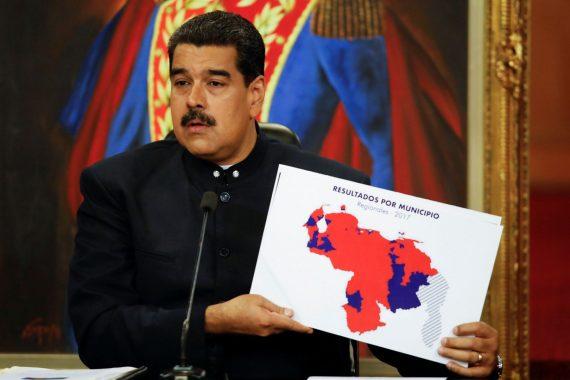 Maduro élections régionales banques Russie Chine