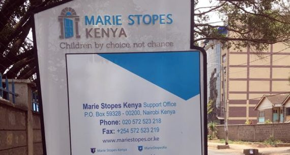 Marie Stopes International implants contraceptifs mineures Kenya insu parents