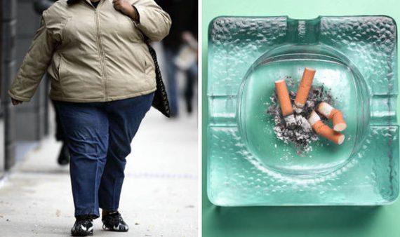 NHS britannique opérations fumeurs personnes obèses