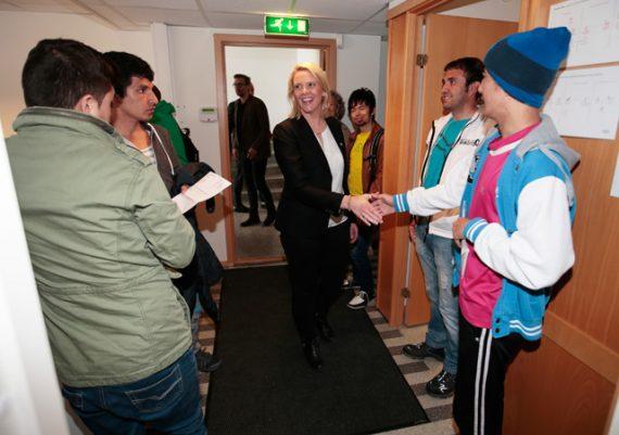Norvège système asile demandeurs seule structure collective
