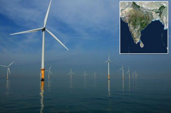 Parc éolien maritime illusions grandeur
