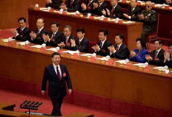 Pensée Xi Jinping congrès PCC Chine