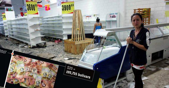 Prévisions désastreuses Venezuela FMI