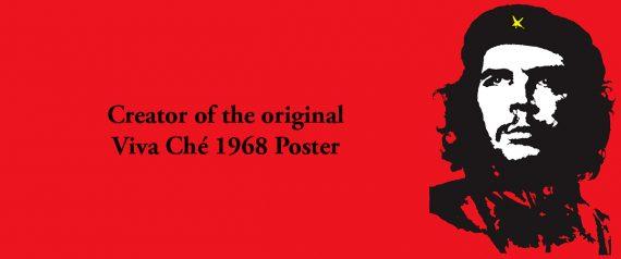 RT com parole graphiste célèbre poster Viva Ché