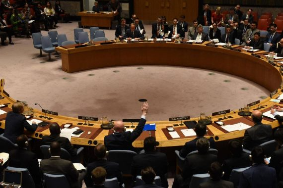 Russie veto inspection armes chimiques Syrie
