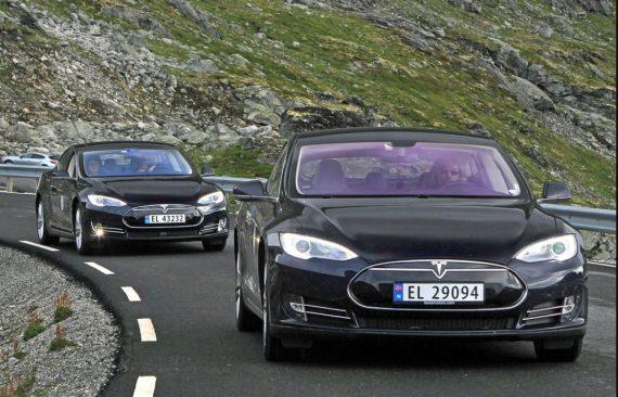 Taxer lourdement véhicules électriques Norvège