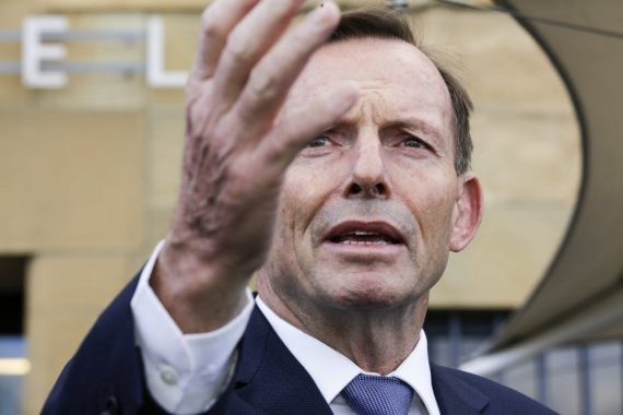 Tony Abbott réchauffement bénéfique homme ancien Premier ministre climatosceptique Australie