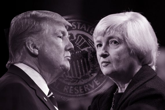 Trump promesses Reserve Federale Politique inflationniste Janet Yellen