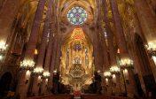 La cathédrale de Majorque a «célébré» la Réforme