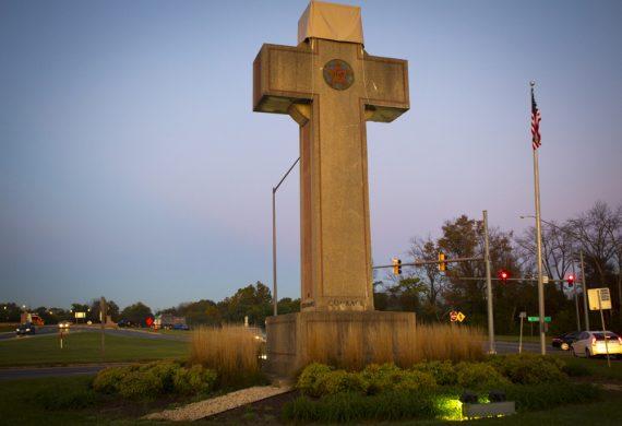 cour fédérale Etats Unis mémorial guerre croix anticonstitutionnelle