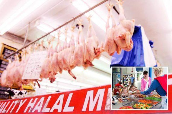 leaders islamiques boycott cantines scolaires viande halal banni Lancashire