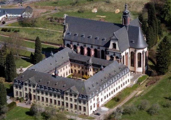 monastère cistercien Himmerod Allemagne fermé portes photo