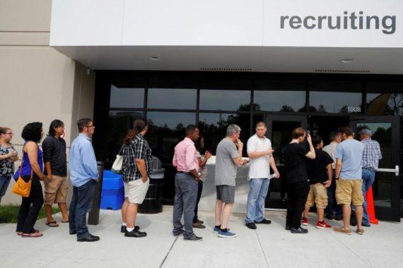 ouragans embellie marché emploi Etats Unis