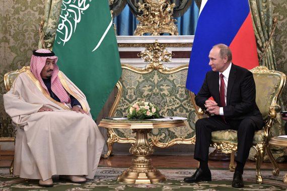 rencontre Salman Poutine basculement pétrolier diplomatique Russie Arabie saoudite