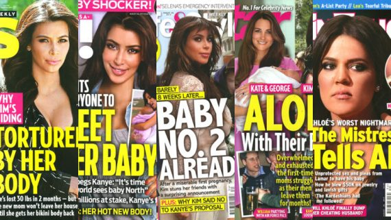 tabloïdes Kardashian promotion mères porteuses