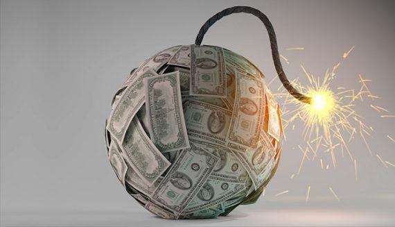 217000 milliards dollars dettes Fed bombe financière