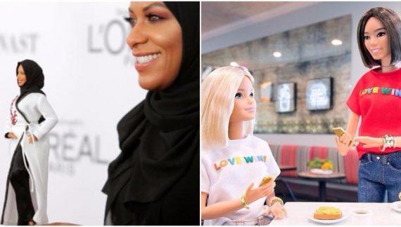 Barbie hidjab LGBT