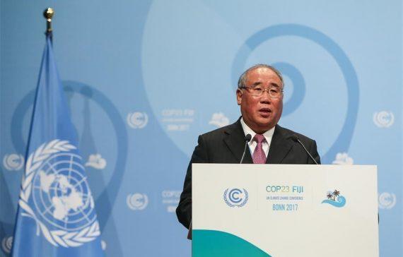COP 23 rôle moteur Chine lutte changement climatique ONU
