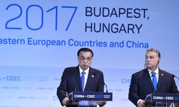 Chine fonds investissement milliard dollars pays centre Est Europe