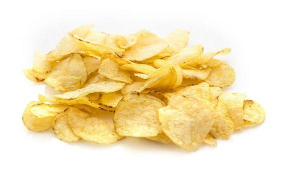 Chips gâteaux perdre belle couleur dorée Royaume Uni UE