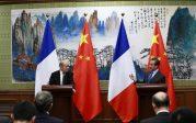 La France et la Chine veulent renforcer leur coopération nucléaire et lutter ensemble contre le «changement climatique»
