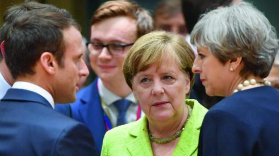 Macron Merkel May moins populaires Donald Trump
