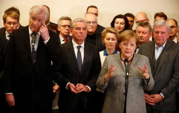 Merkel échec gouvernement migrants négociations