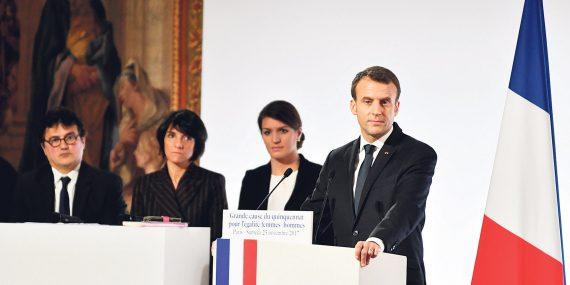 Président Macron Porno Débat Ferrara Féministes
