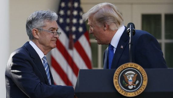 Réserve fédérale Jerome Powell Establishment Donald Trump