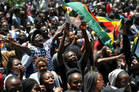 Zimbabwe Chine démission Mugabe Pékin