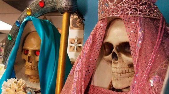 culte sainte mort Santa Muerte Satan commémoraison fidèles défunts