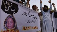 Des manifestants islamistes veulent mettre à mort Asia Bibi